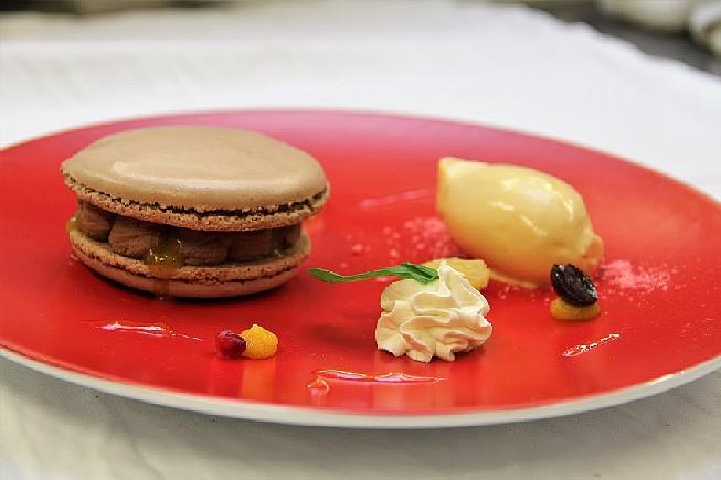 le-macaron-Chocolat