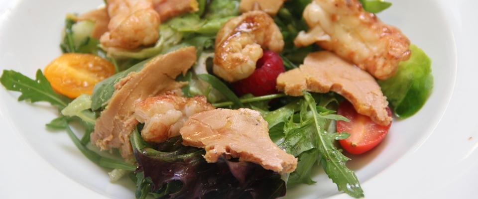 salade-de-langoustine-et-foie-gras